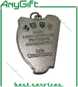 Zinc Alloy Die Casting 3D Medal with Antique Brass Plating (LAG-Medal-05) pictures & photos
