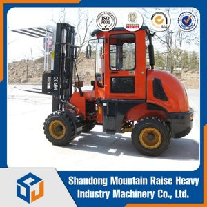 Diesel 3 Ton All New Rough Terrain Forklift pictures & photos