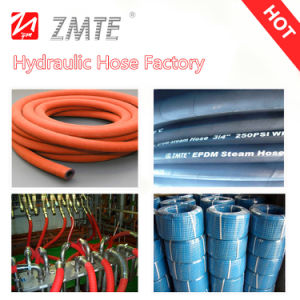 High Temperature Flexible Rubber Steam Hose pictures & photos