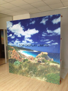 Factory Wholesale Portable Easy-Assembly Modular Green Exhibition Display Trade Show Booth Advertising Equipment Booth Promotion Pop up Store Display Stand pictures & photos