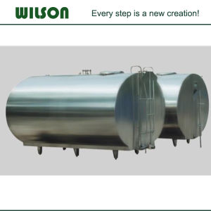 Horizontal Refrigeration Milk Cooling Tank pictures & photos