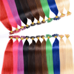Good Quality Nail Tip Pre-Bonded Hair Extension, U Tip Hair pictures & photos