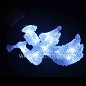 LED Christmas Decoration acrylic Angel Light (Angle-28CM) pictures & photos