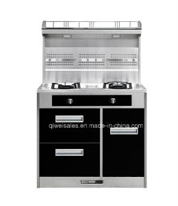 Integrated Cooker with Double Gas Stove (JCJZ-90B) pictures & photos