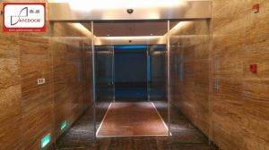 Automatic Glass Door, Low Noise, 24VDC Motor, Slight Touch and Reverse pictures & photos