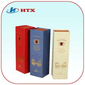 Wholesale Customized 1-4colors Printing B Flute Cardboard Wine Boxes