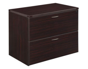 Modern High Quality MFC Board Office Furniture 2-Drawer Lateral File pictures & photos