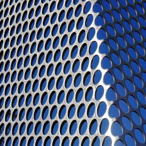 Polish Stainless Steel Perforated Sheet Metal pictures & photos