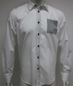 Man′s Casual Woven Shirts HD0071