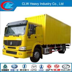 Heavy Duty Sinotruk HOWO 6X4 15ton Van Truck pictures & photos
