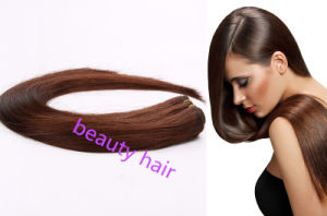 100$ Human Hair Extension, Weft Hair pictures & photos
