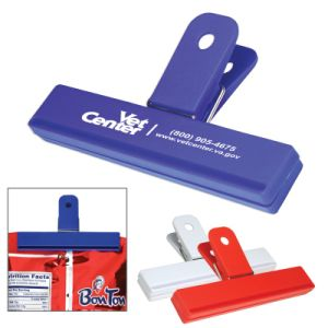 Plastic Logo Printed Bag Clips (PM143) pictures & photos