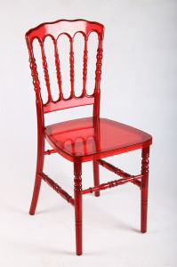 Red Polycarbonate (PC) Resin Party Outdoor Dining Napoleon Chair pictures & photos
