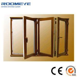 Alu-Wood Folding Window with High Quality Reasonable Price pictures & photos