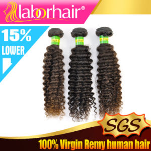 9A Grade 20′′ Kinky Curl 100% Brazilian Virgin Remy Human Hair Extensions pictures & photos