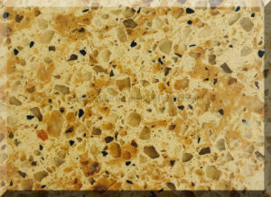 Double Color Good Design Quartz Stone Selling/Popular Quartz Stone Product for Sale/Artificial Stone for Quartz pictures & photos