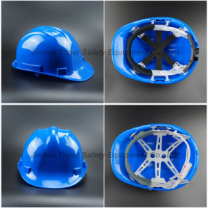 Safety Equipment HDPE Material Safety Helmet Construction Helmet (SH502) pictures & photos