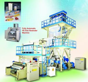 Two Layer Co-Extruding Film Blowing Machine pictures & photos