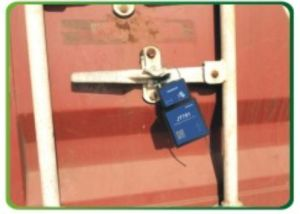 GPS Container Lock with Remote Lock Function pictures & photos