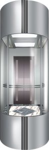 Mrl Machine Roomless Panoramic Elevator for Shopping Mall pictures & photos