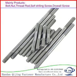 Hot Sale Double End Bolts, Stainless Steel, Carbon Steel, Zinc, Black pictures & photos