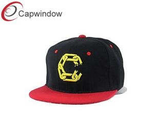 Simple Style Acrylic Snapback Sports Hat with 3D Embroidery (01092) pictures & photos