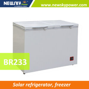 DC 12V Solar Chest Freezer with Handle Locks Freezer 12V pictures & photos
