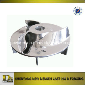 OEM Investment Stainless Steel Casting Water Pump Impeller pictures & photos
