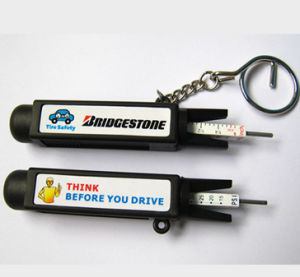 Tire Pressure Gauge with Sticker label Logo pictures & photos