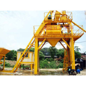 HZS35 Stationery Concrete Batching Plant pictures & photos
