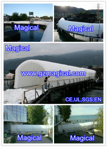 Long Size Inflatable Tunnel Tent (MIC-564) pictures & photos
