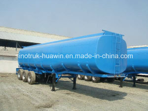 Sinotruk 3-Axle Fuel Tanker Semi Trailer Fuel Tanker pictures & photos