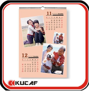Custom A2 Wall Calendar for Promotion pictures & photos