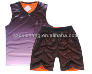 Basketball Set, Wholesale Basketball Wear, Fashion Sublimation Basketball Jersey pictures & photos