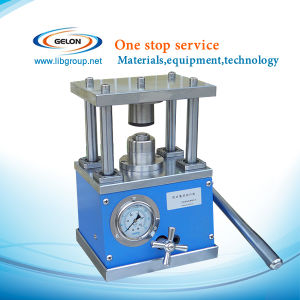 Best Price Coin Cell Crimping Machine for Cr20xx Series Button Cells Crimper pictures & photos