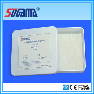 Wound Care Paraffin Gauze Manufacturer pictures & photos