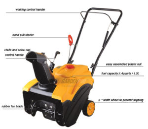 Mini Gasoline Snow Blower (KC318-F) pictures & photos