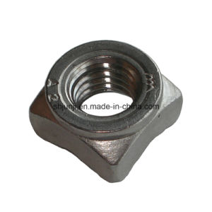 Square Stainless Steel Weld Nut