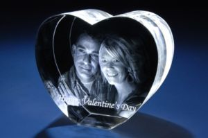3D Glass Crystal Laser for Wedding Gift pictures & photos