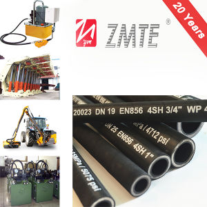 En856 4sh High Woking Pressure Hydraulic Flexible Rubber Hose pictures & photos