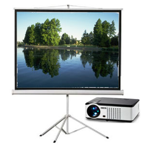 Multimedia Projector & Projection Screen & Projector Screen