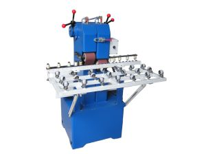 Glass Double Belt Grinding Machine pictures & photos