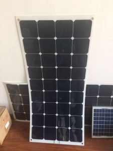 High Efficiency Semi Flexible Sunpower 100W Solar Panel pictures & photos