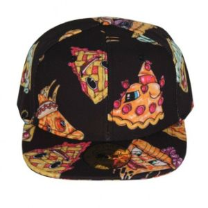 3D Pizza Digital Print Cap Casual Fashion Caps pictures & photos
