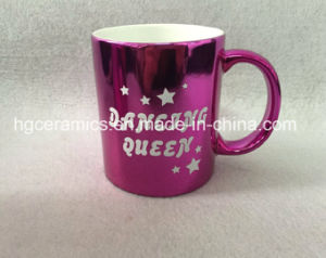 Hot Ceramic Mug, Ceramic Metallic Mug, Ceramic Metallic Mug with Printing, Shinning Mug pictures & photos