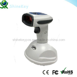 Laser Barcode Scanner Wireless (SK WX2800White) pictures & photos