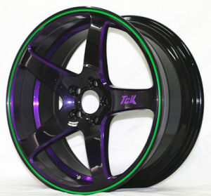 New Deisgns Advanti Wheel Alloy Wheel Auto Parts Double Color Wheel pictures & photos