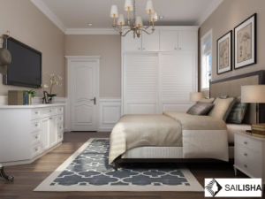 Modern American Home Bedroom Hotel Furniture Wood Closets Wardrobe pictures & photos