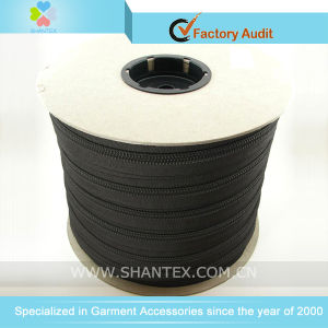 Nylon Long Chain Zipper in Bobbin pictures & photos