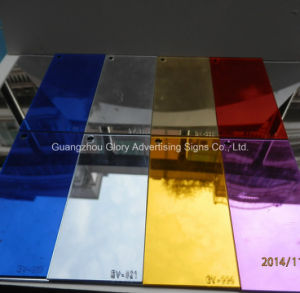 PMMA Acrylic Mirror Sheet Producer pictures & photos